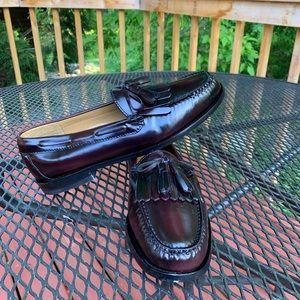Cole Haan 8D bib & leather tassels Lenny loafer